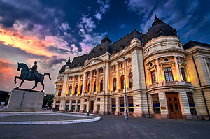 views-of-statues-and-architecture-in-bucharest