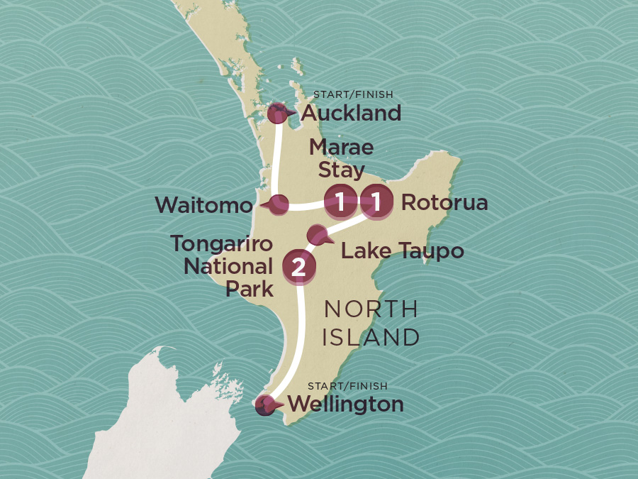 Map of Sweet As North (Ex Auckland) 2020-21