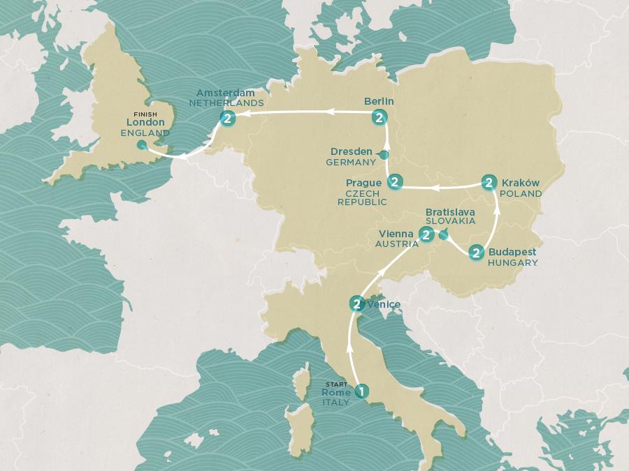 Eastern Spirit Map