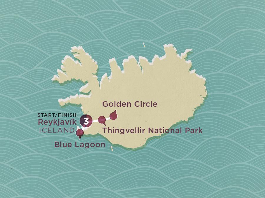 Iceland Explorer Map