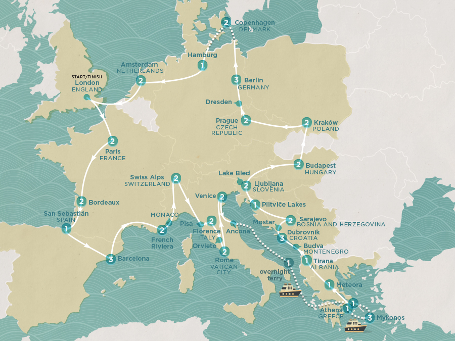 Mega European Map