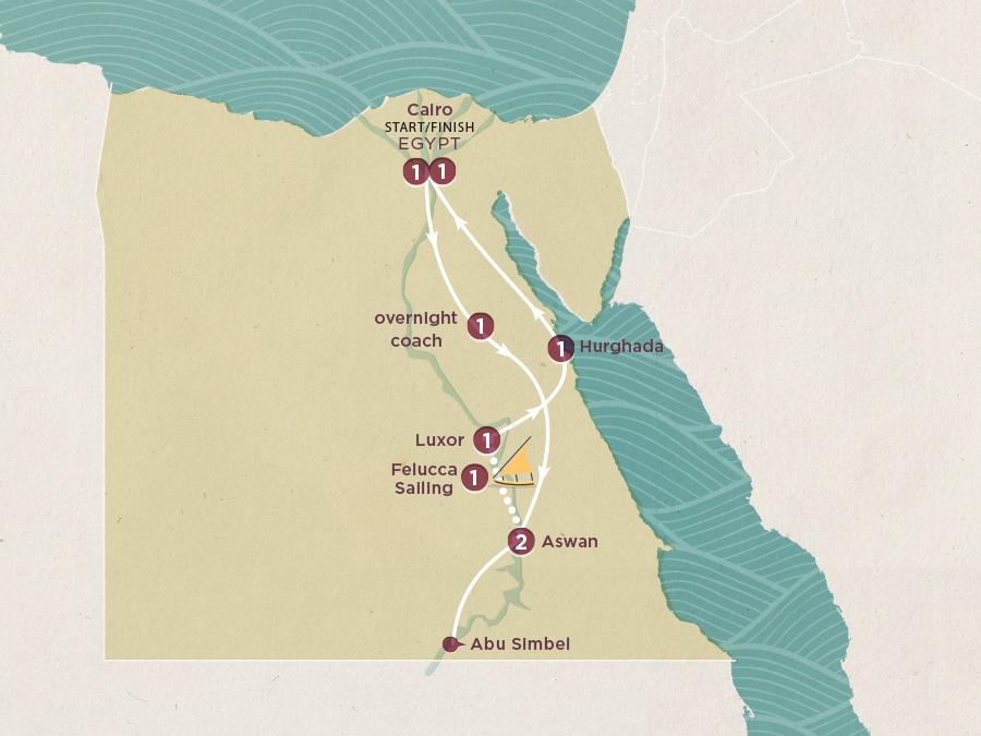 Egypt Express Map