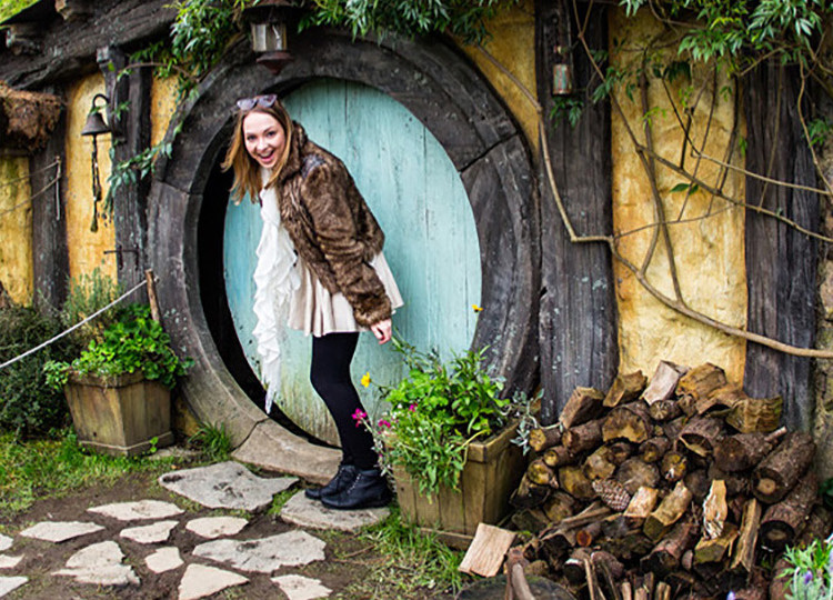 hobbit house in Middle Earth New Zealand