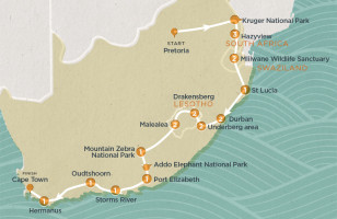 Kruger to Cape Town