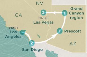 Coast to Vegas
